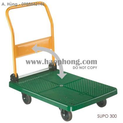 Xe đẩy hàng sàn nhựa SUPO 300