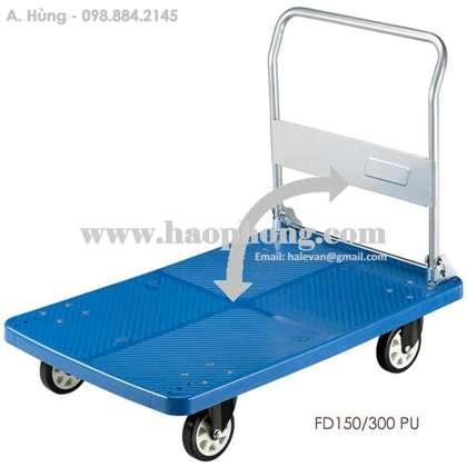 Xe đẩy hàng sàn nhựa Feida FD150 PU