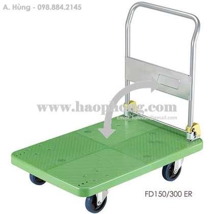 Xe đẩy hàng sàn nhựa Feida FD150 ER